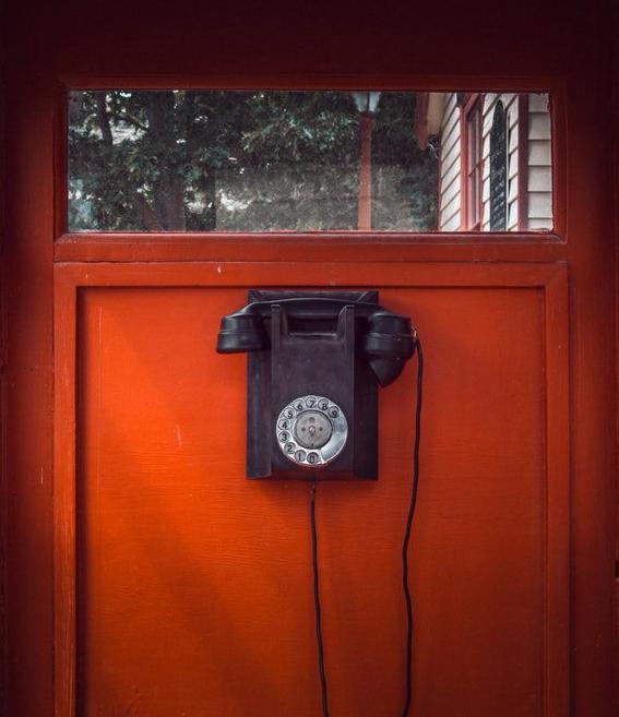 photo-rotary phone